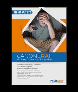 report Canone Rai Revoluce